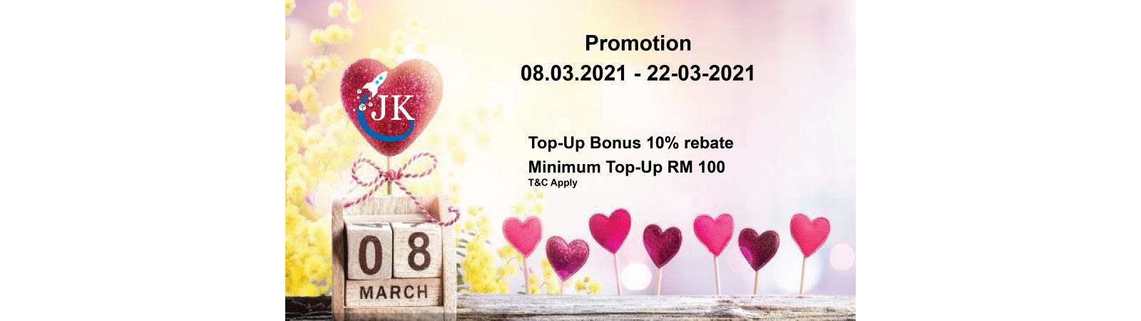 08.03.2021 Promotion